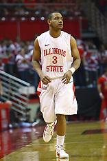 Trey Blue Illinois State Redbird Basketball Photos