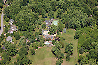 Annapolis MD area aerial photo of Residence near Severn River in Severna Park Neighborhood