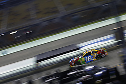November 16, 2018 - Homestead, Florida, U.S. - Kyle Busch (18) takes to the track to qualify for the Ford 400 at Homestead-Miami Speedway in Homestead, Florida. (Credit Image: © Justin R. Noe Asp Inc/ASP)