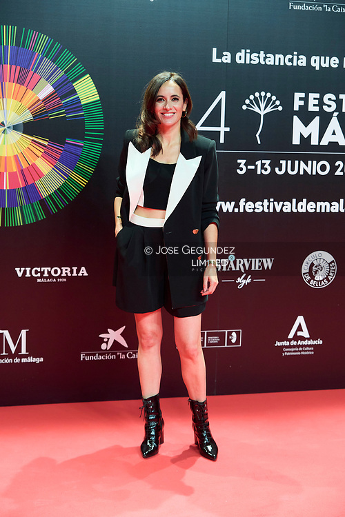 Ana Turpin attends 24th Malaga Film Festival presentation photocall at Circulo de Bellas Artes on May 25, 2021 in Madrid, Spain