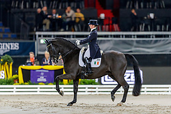 REYNOLDS Judy (IRL), Vancouver K<br /> Stuttgart - German Masters 2019<br /> PREIS DER FIRMA ABELEIN EVENT SERVICE<br /> FEI Dressage World Cup Grand Prix <br /> Int. Dressurprüfung - CDI-W<br /> Qualifikation zur Grand Prix Kür<br /> 15. November 2019<br /> © www.sportfotos-lafrentz.de/Stefan Lafrentz