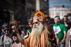 May 27, 2017 - Rome, Italy, Italy - The 17th million Marijuana march was held in Rome, Italy. (Credit Image: © Andrea Ronchini/Pacific Press via ZUMA Wire)