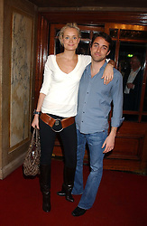 KALITA AL-SWAIDI and ARIS PISSIOTIS at the Myla Debutantes Coming-Out show held at The Porchester Hall, Porchester Road, London on 31st January 2006.<br /><br />NON EXCLUSIVE - WORLD RIGHTS