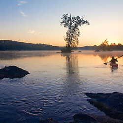 Kayaking and Camping On The Potomac River