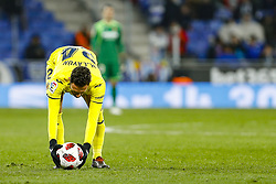 January 17, 2019 - Barcelona, Catalonia, Spain - Miguel Layun (24) of Villarreal CF during the match RCD Espanyol v Villarreal CF, for the round of 16 of the Copa del Rey played at Camp Nou  on 17th January 2019 in Barcelona, Spain. (Credit Image: © Mikel Trigueros/NurPhoto via ZUMA Press)