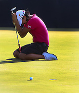 15 AUG 30  Yani Tseng was one heartbreaking putt away from a playoff on the 18th green at the conclusion Sundays Final Round of The Yokohama Tire LPGA Classic at The RTJ Golf Trail in Prattville, Alabama.(photo credit : kenneth e. dennis/kendennisphoto.com)