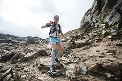 25.07.2015, Rodolfshütte, Uttendorf, AUT, Grossglockner Ultra Trail, 110 km Berglauf, im Bild Kristyna Hajkova (CZE) // Kristyna Hajkova of czech Republik during the Grossglockner Ultra Trail 110 km Trail Run from Kaprun via Kals arround the Grossglockner to Kaprun. Uttendorf, Austria on 2015/07/25. EXPA Pictures © 2015, PhotoCredit: EXPA/ Johann Groder