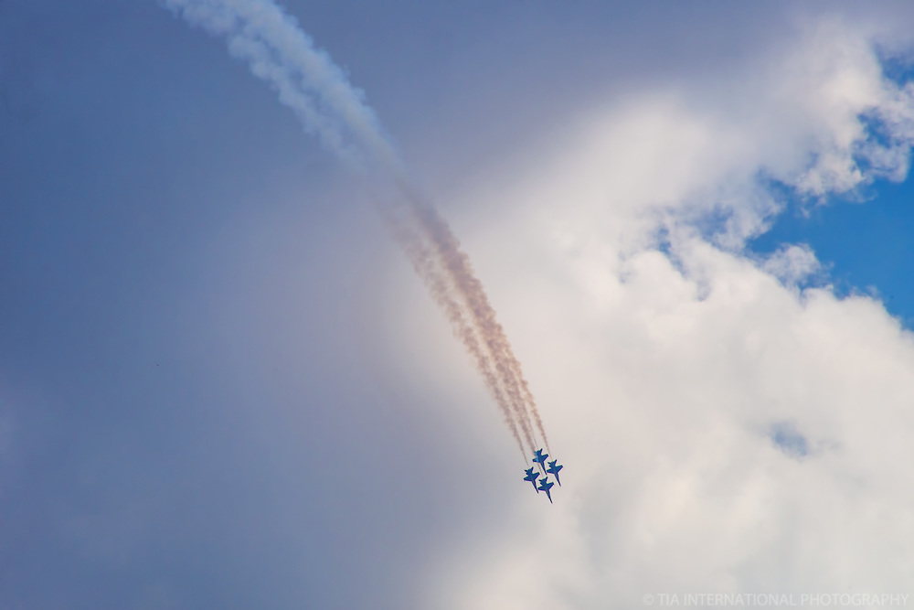 Blue Angels Cruise the Skies