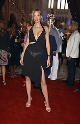 Model LISA BUTCHER at the opening party for Diamonds - a new exhibition at The Natural History Museum, London in association with De Beers held on 6th July 2005.<br />