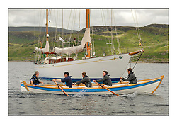 Day three of the Fife Regatta, Cruise up the Kyles of Bute to Tighnabruaich<br /> Skiff Rowing Race, Latfia<br /> <br /> * The William Fife designed Yachts return to the birthplace of these historic yachts, the Scotland's pre-eminent yacht designer and builder for the 4th Fife Regatta on the Clyde 28th June–5th July 2013<br /> <br /> More information is available on the website: www.fiferegatta.com