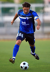 Enes Demirovic of Gorica during 2nd match of 1st round Intertoto Cup soccer match between ND Gorica and Hibernians FC at Sports park, on June 28,2008, in Nova Gorica, Slovenia. (Photo by Vid Ponikvar / Sportal Images)