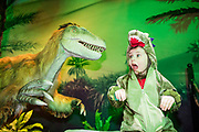 NO FEE PICTURES<br /> 17/12/17 Roisin Brennan 4 perrystown pictured at the prehistoric preview and official opening of Dinosaurs Around The World now open at the the Ambassador Theatre  for a limited time only. Embark on a globetrotting expedition around the world to discover the Age of Reptiles! With advanced animatronics, a multi-layered narrative, fossils, authentic casts, cutting-edge research and immersive design elements you'll experience the Age of Reptiles as it comes to life!  Dinosaurs Around the World is open daily to the public from 10 a.m. with last entry at 6pm for a limited time only. Tickets available from Ticketmaster.ie and from the Ambassador Theatre Box Office now. Visit www.mcd.ie for more. Pictures: Arthur Carron
