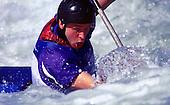 2000 Olympic Slalom Canoe, Sydney. NSW. Australia