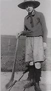 An un-named Hurler from the Glens caught the eye of the camera in the 1900's.