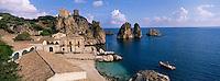 Tonnara di Scopello, Scopello, Sicily, Italy, // Italie, Sicile, Scopello, Tonnara di Scopello