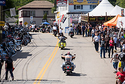 Lakeside Avenue in Weir's Beach during Laconia Motorcycle Week 2016. NH, USA. Friday, June 17, 2016.  Photography ©2016 Michael Lichter.