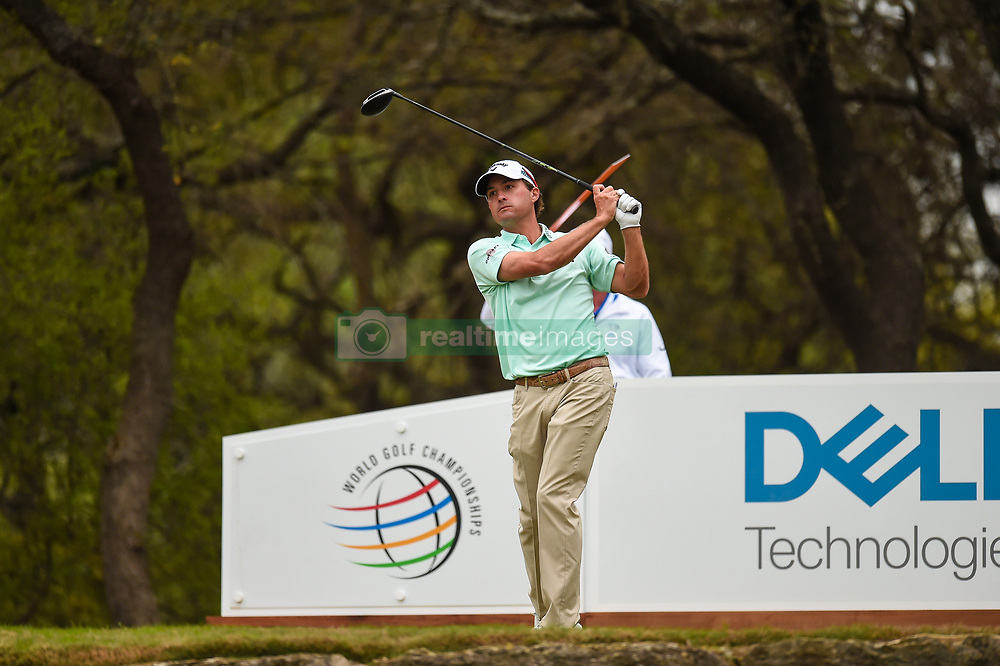 March 24, 2018 - Austin, TX, U.S. - AUSTIN, TX - MARCH 24: Kevin Kisner hits a tee shot during the Round of 16 for the WGC-Dell Technologies Match Play on March 24, 2018 at Austin Country Club in Austin, TX. (Photo by Daniel Dunn/Icon Sportswire) (Credit Image: © Daniel Dunn/Icon SMI via ZUMA Press)