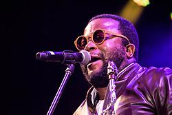 Moreira Chonguica. Cape Town Jazz Festival Free Community Concert, 29 March 2017. Greenmarket Square. Photo by Alec Smith/imagemundi.com