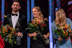 18-12-2019 NED: Sports gala NOC * NSF 2019, Amsterdam<br /> The traditional NOC NSF Sports Gala takes place in the AFAS in Amsterdam / Handbalsters, sportploeg van het jaar 2019, Hugo Haak (bondscoach baansprinters), Coach van het Jaar 2019