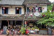 Cafes on Sisavangvong Road in Luang Prabang.