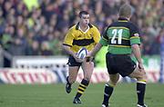 Northampton, Northamptonshire, UK, 08.12.2001, , Northampton Saints vs  London Wasps, Zurich Premiership Rugby, Franklyn Gardens, [Mandatory Credit: Peter Spurrier/Intersport Images]<br /> 8-12-2001