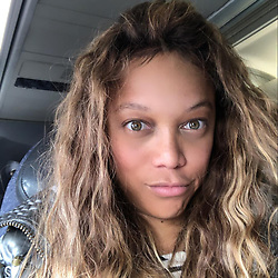 """Tyra Banks releases a photo on Instagram with the following caption: """"Lookin\u2019 like my son \ud83d\udc76\ud83c\udffd"""". Photo Credit: Instagram *** No USA Distribution *** For Editorial Use Only *** Not to be Published in Books or Photo Books ***  Please note: Fees charged by the agency are for the agency's services only, and do not, nor are they intended to, convey to the user any ownership of Copyright or License in the material. The agency does not claim any ownership including but not limited to Copyright or License in the attached material. By publishing this material you expressly agree to indemnify and to hold the agency and its directors, shareholders and employees harmless from any loss, claims, damages, demands, expenses (including legal fees), or any causes of action or allegation against the agency arising out of or connected in any way with publication of the material."""