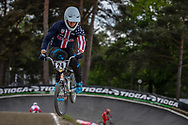 #24 (SHARRAH Corben) USA during round 3 of the 2017 UCI BMX  Supercross World Cup in Zolder, Belgium,