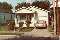 1970's Collect photograph; New Orleans, Louisiana.<br /> The Lajaunie family home on Whitney Avenue in New orleans.  Gayle Benson (nee Lajaunie) was raised at this humble home built in the 1940's by her father Francis Lajaunie..<br /> Gayle Benson (nee Lajaunie) is the 3rd and current wife of Louisiana billionaire Tom Benson, owner of the NFL football team The New Orleans Saints and NBA basketball team The New Orleans Pelicans. <br /> Photo; Collect photo/varleypix.com