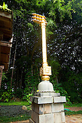 Golden key, Kauai Hindu Monastery, Kauai, Hawaii