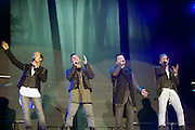 """Westlife Farewell Tour 2012 at the SECC.27-05-12...Irish Super Group Westlife perform during their sell out show at the SECC in the Scottish Leg of their Farewell World Tour. ..Westlife are an Irish boy band formed in 1998. They are to disband in 2012 after their farewell tour. The group's line-up was Shane Filan, Mark Feehily, Kian Egan, and Nicky Byrne. Brian McFadden was part of the group until 2004. Westlife have sold over 45 million records worldwide which includes studio albums, singles, video release, and compilation albums.. Despite the group's worldwide success, they only have one hit single in the United States, """"Swear It Again"""", which peaked in 2000 on the Billboard Hot 100 at number 20. The band were originally signed by Simon Cowell and are managed by Louis Walsh. The group have accumulated 14 number-one singles in the United Kingdom, the third-highest in UK history, tying with Cliff Richard..The group had also broken a few records, including """"Music artist with most consecutive number 1's in the UK"""", which consists of their first seven singles and only behind The Beatles and Elvis Presley..The band have 14 UK number ones and 25 top ten singles, consisting of 20.2 million records and videos in the UK across their 14-year career - 6.8 million singles, 11.9 million albums and 1.5 million videos. The Band are best known for amazing songs such as Flying Without Wings and Safe....At The SECC, Glasgow..Picture  Mark Davison/ ProLens PhotoAgency/ PLPA.Sunday 27th May 2012."""