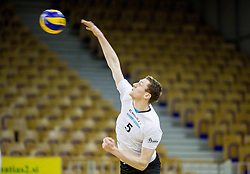 Toncek Stern of Calcit during volleyball match between ACH Volley and OK Calcit Volleyball in 10th Round of Slovenian National Championship 2014/15, on March 11, 2015 in Arena Tivoli, Ljubljana, Slovenia. Photo by Vid Ponikvar / Sportida