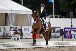 Hogberg Jeanna, DEN, Hesselhoej Down Town<br /> World Championship Young Horses Verden 2021<br /> © Hippo Foto - Dirk Caremans<br /> 26/08/2021