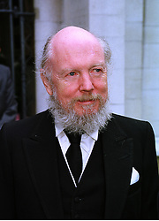 The HON.GARETH BROWNE a member of the Guinness family, at a memorial service in London on 15th July 1998.MJC 62