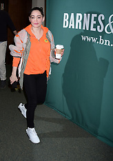 Rose McGowan Signs Copies Of Her Book Brave - 31 Jan 2018