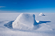 Ice and snow on Lake Winnipeg<br />