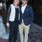 NLD/Amsterdam//20140325 - Schaatsgala 2013, Michel Mulder en partner Manon Kamminga