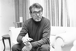 """January 1, 1970 - MILOS FORMAN wurde am 18. Februar 1932 in C‡slav geboren. Bis zur Niederschlagung des Prager Frühlings gehörte Forman zu den wichtigsten tschechischen Regisseuren, danach emigrierte er in die USA. Forman ist ein Meister des anspruchsvollen Unterhaltungskinos und erhielt für fünf Oscars für seinen Film Einer flog übers Kuckucksnest (1975) und acht Oscars für seine Mozartbiografie Amadeus (1984). rights=ED !AUFNAHMEDATUM GESCHÃ""""TZT! Copyright: KPA UnitedArchives00644437....Milos Forman was at 18 February 1932 in  born until to Repression the Prague Spring belonged Forman to the most important Czech Directors thereafter emigrated he in the USA Forman is a Master the discerning   and received for five Oscars for his Film a flew transl Cuckoou0026#39;s nest 1975 and eight Oscars for his  Amadeus 1984 rights=ED date estimated Copyright KPA UnitedArchives00644437 (Credit Image: © Imago via ZUMA Press)"""