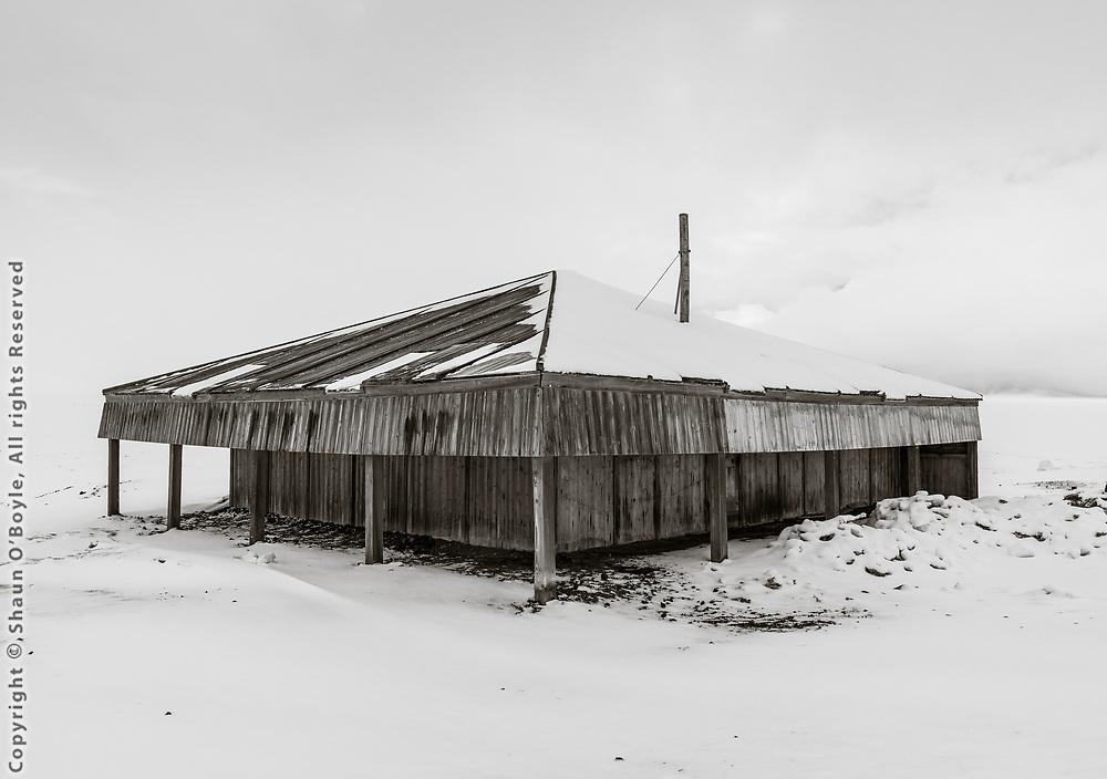 Scott's Discovery Hut, Hut Point
