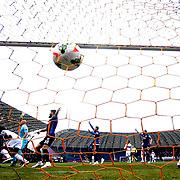 Besiktas's scores during their Turkish superleague soccer match Besiktas between Suat Altin Insaat Kayseri Erciyesspor at Osmanli Stadium in Ankara Turkey on Sunday 15 March 2015. Photo by Aykut AKICI/TURKPIX