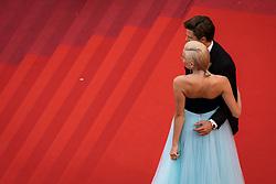 May 20, 2019 - Cannes, France - 72eme Festival International du Film de Cannes. Montée des marches du film ''La Belle Epoque'' depuis la terrasse du palais. 72th International Cannes Film Festival. Red Carpet for ''La Belle Epoque'' movie from the rooftop....239578 2019-05-20  Cannes France.. Lott, Pixie (Credit Image: © Terence Baelen/Starface via ZUMA Press)