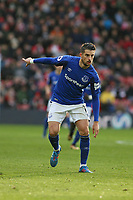 Football - 2017 / 2018 Premier League - Southampton vs. Everton<br /> <br /> Kevin Mirallas of Everton at St Mary's Stadium Southampton<br /> <br /> COLORSPORT/SHAUN BOGGUST