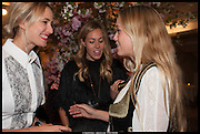 PRINCESS ELIZABETH VON THURN UND TAXIS; FLORENCE BRUDENELL-BRUCE;  Alice in her Palace party, Alice Naylor-Leyland launch of her  blog, Alice in her Palace, Drawing Room at Fortnum & Mason. 27 March 2014