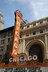 Chicago Sign Chicago Theatre Marquee. The Chicago Theatre is a Chicago Landmark and is listed with the National Register of Historic Places.