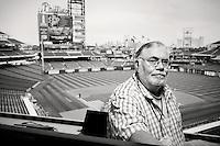 Philadelphia Daily News sports columnist Bill Conlin