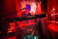 Seaside Caves was among the bands to play at the House of Independents in Asbury Park Tuesday night. Pictured is Matthew Gere on keyboards. / Russ DeSantis   For NJ Advance Media