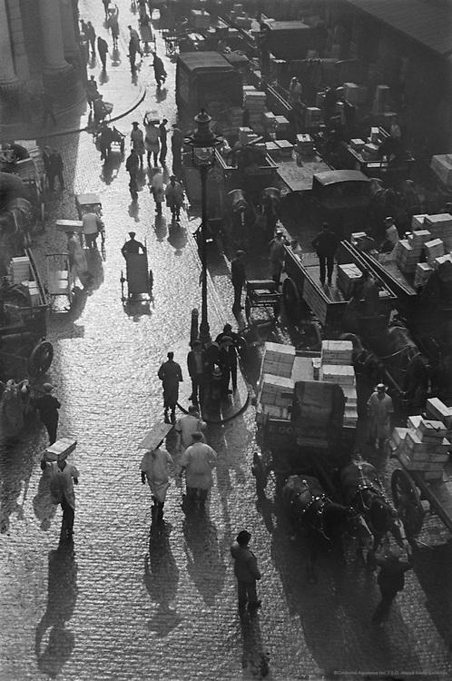 Billingsgate Fish Market, London, 1945