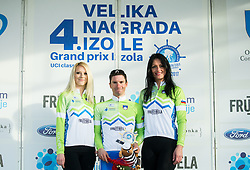 POLANC Jan (SLO)  of Slovenian National Team, winner in Intermidiate Sprints classification during trophy ceremony after the UCI Class 1.2 professional race 4th Grand Prix Izola, on February 26, 2017 in Izola / Isola, Slovenia. Photo by Vid Ponikvar / Sportida