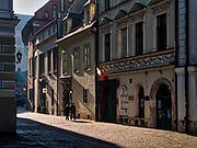 Ulica Kanonicza w Krakowie, Polska.<br /> Kanonicza Street in Cracow, Poland.