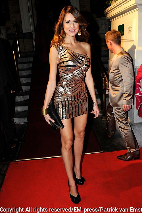 Uitreiking Beau Monde Awards in het Amstel Hotel, Amsterdam.<br /> <br /> Op de foto:  Tamara Elbaz