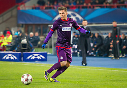 11.12.2013, Ernst Happel Stadion, AUT, UEFA Champions League, FK Austria Wien vs Zenit St. Petersburg, Gruppe G, im Bild Thomas Murg, (FK Austria Wien, #18)// during the UEFA Champions League group G match between FK Austria Vienna and Zenit St. Petersburg at the Ernst Happel Stadion in Vienna, Austria on 2013/12/11. EXPA Pictures © 2013, PhotoCredit: EXPA/ Sebastian Pucher